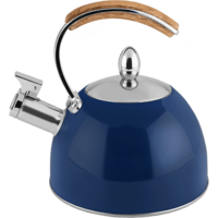 Navy Tea Kettle