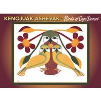 Kenojuak Ashevak Birds of Cape Dorset Notecards
