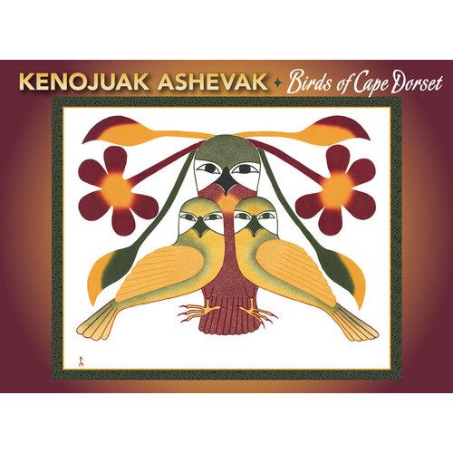 Pomegranate Kenojuak Ashevak Birds of Cape Dorset Notecards