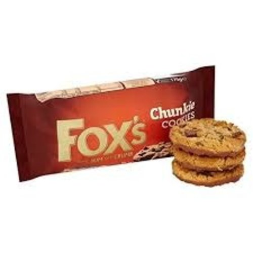 Fox's Foxs chunky cookie extremely chocolaty
