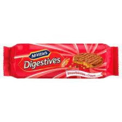 McVitie's Strawberry and Cream Digestive with Chocolate