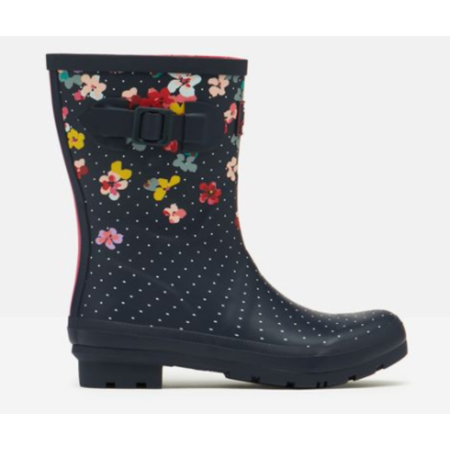 Joules USA Navy Blossom Molly Welly