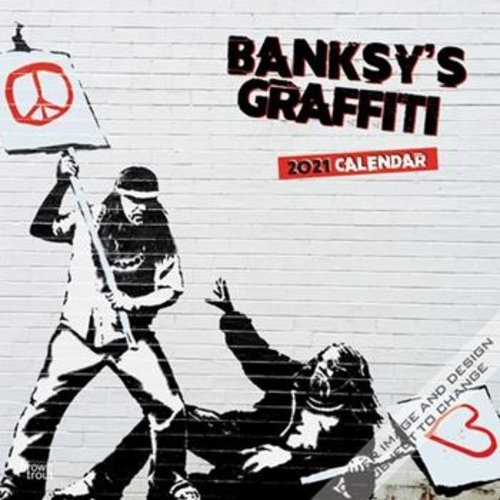 BrownTrout Publishers Banksy's Graffiti Calendar