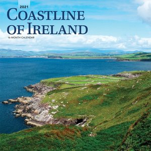 BrownTrout Publishers Coastline of Ireland 2021 Calendar
