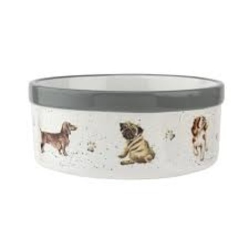 Wrendale 'Woof' Small Pet Bowl