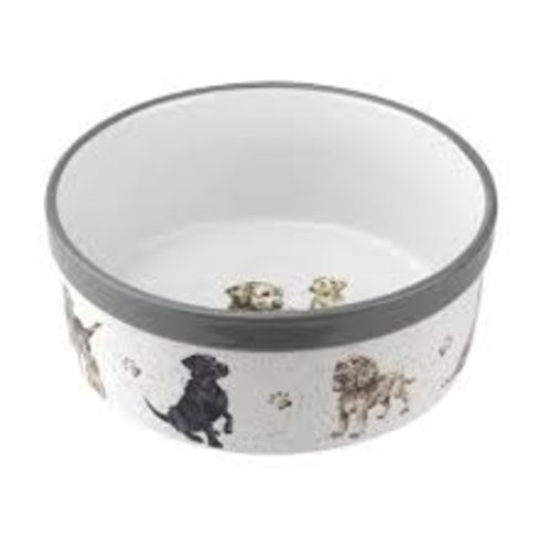Wrendale 'Woof' Large Pet Bowl