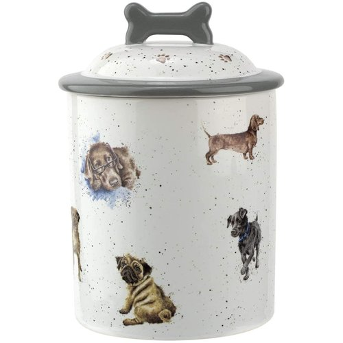 Wrendale 'Woof' Dog Treat Jar