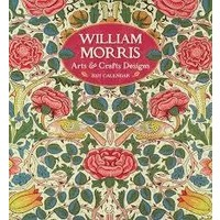 William Morris Arts and Crafts Designs 2021 Wall Calendar