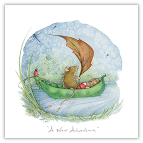 A New Adventure Mouse Card