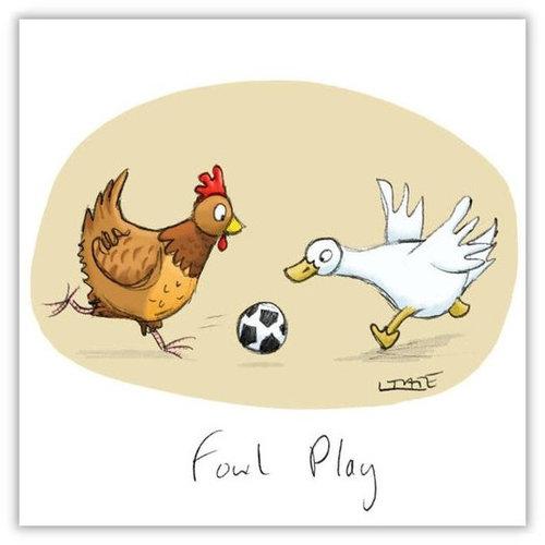 Fowl Play Greeting Card