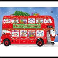 Double Decker Bus Advent Calendar