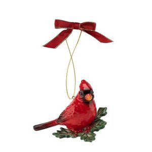 Spode Cardinal Tree Ornament