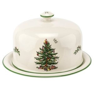 Spode Christmas Tree Cheese Platter