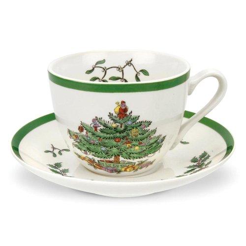 Spode Spode Christmas Tree Teacup & Saucer