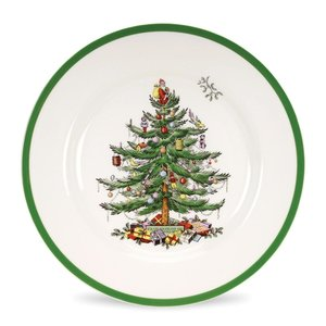 Spode Christmas Tree Salad Plate