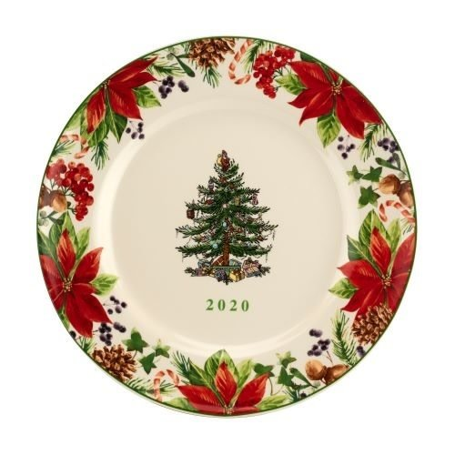 Spode Christmas Tree Annual Collector Plate 2020
