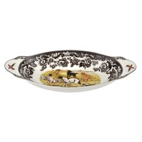 Spode Woodland Bread Tray Hunting Dogs