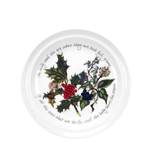 """Portmeirion Holly & Ivy 8"""" Plate"""
