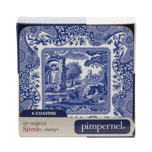Portmeirion Spode Blue Italian Coasters
