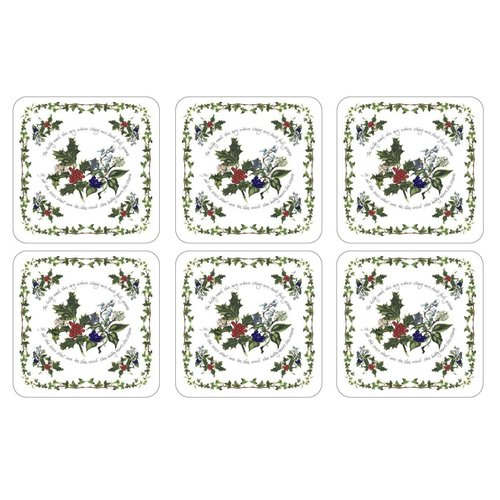 Pimpernel Pimpernel Holly & Ivy Coasters