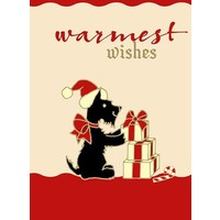 Warmest Wishes Scottie Boxed Cards