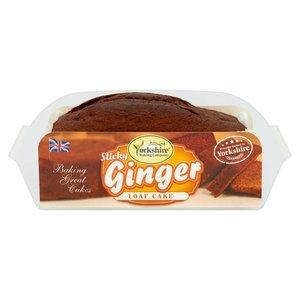 Yorkshire Baking Company Sticky Ginger Loaf Cake