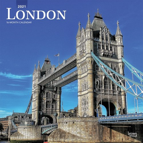 BrownTrout Publishers London 2021 16 Month Calendar