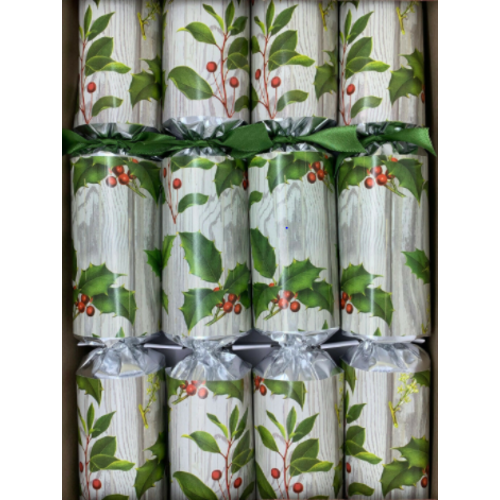 Robin Reed Woodland Holly Christmas Crackers