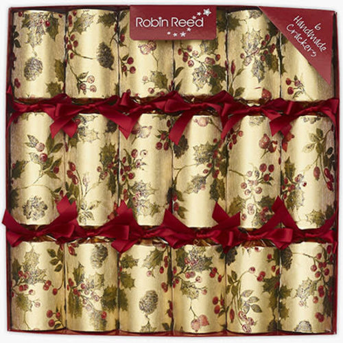 Robin Reed Berry Garland Christmas Crackers