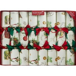 Robin Reed Sleigh Bells Christmas Crackers