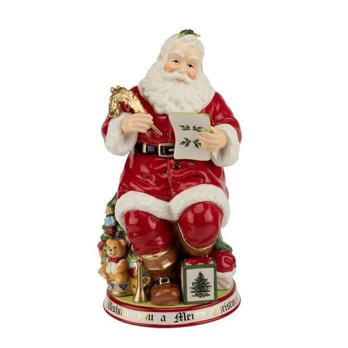 Spode Spode 250th Anniversary Santa Cookie Jar