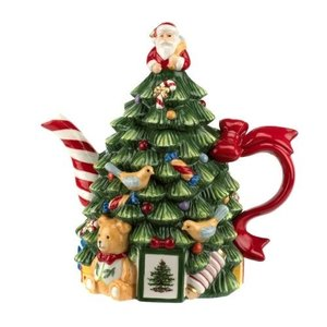 Spode Spode 250th Anniversary Christmas Tree Teapot