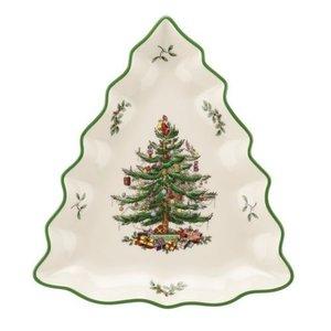 Spode Spode Christmas Tree Shaped Dish