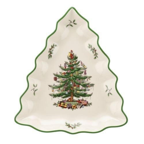 Spode Spode Christmas Tree Shaped Dish