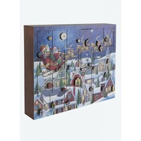 Musical Santa's Sleigh Advent Calendar