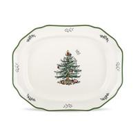 Christmas Tree Spode Sculpted Platter