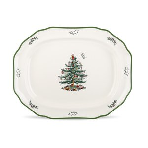 Spode Christmas Tree Spode Sculpted Platter