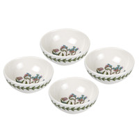Botanic Garden Set of 4 Low Bowls