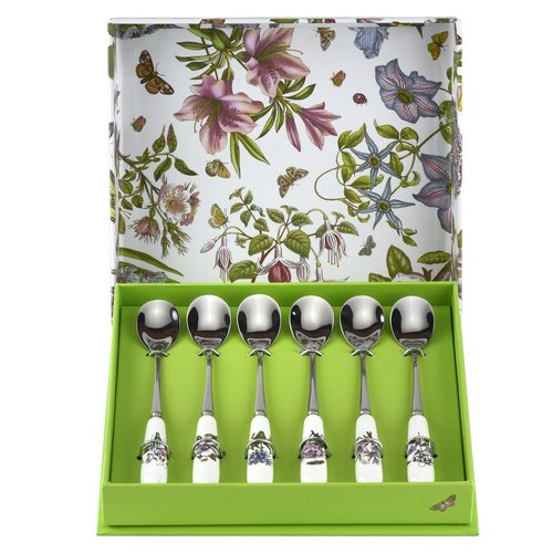 Portmeirion Portmeirion Botanic Garden Set of 6 Tea Spoons