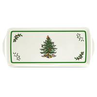 Spode Christmas Tree Sandwich Tray