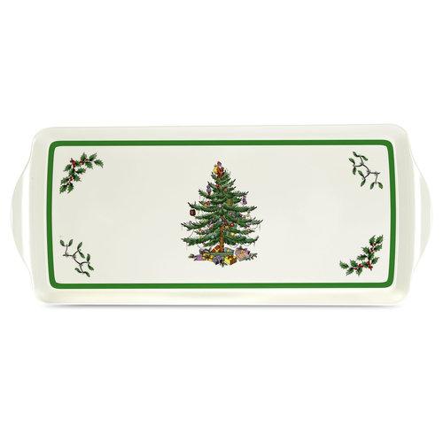 Spode Spode Christmas Tree Sandwich Tray