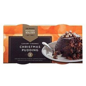 Matthew Walker Luxury Cognac Christmas Pudding 2 pack