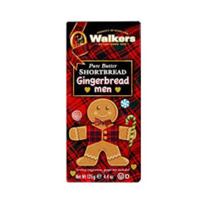 Walker's Shortbread Co. Gingerbread Man Pure Butter Shortbread
