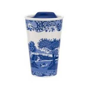 Spode Blue Italian Travel Mug