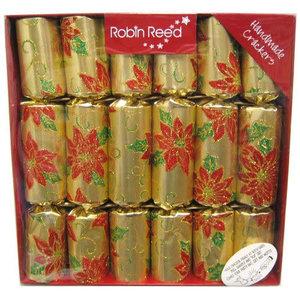 Poinsettia Christmas Crackers