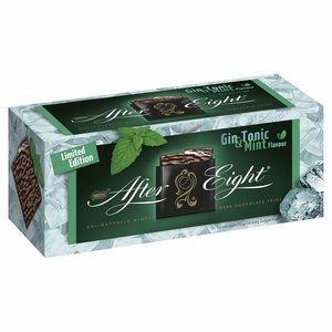 After Eight Gin and Tonic Dark Chocolate Thins