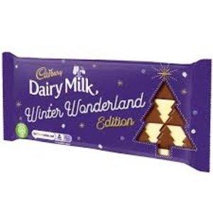 Cadbury Dairy Milk Winter Wonderland Edition 100g