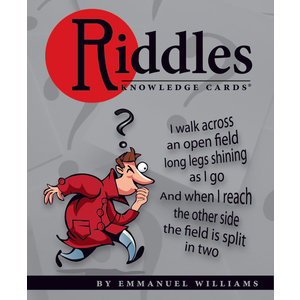 Pomegranate Riddles Volume 1 Knowledge Cards