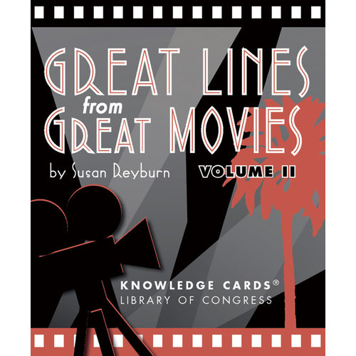 Great Lines from Great Movies Volume 2 Knowledge Cards
