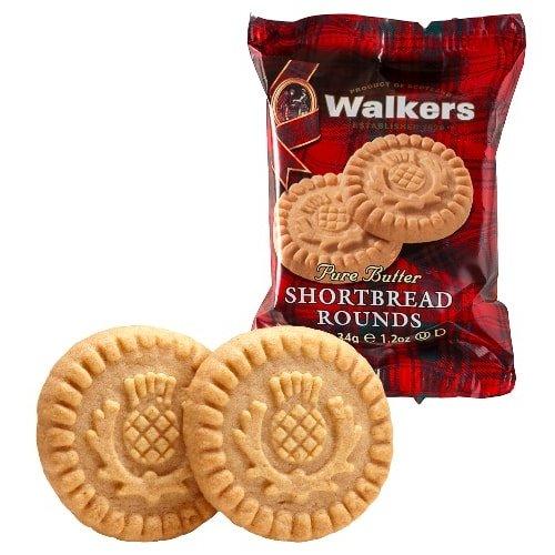 Walker's Walkers Pure Butter Shortbread Rounds  2pk